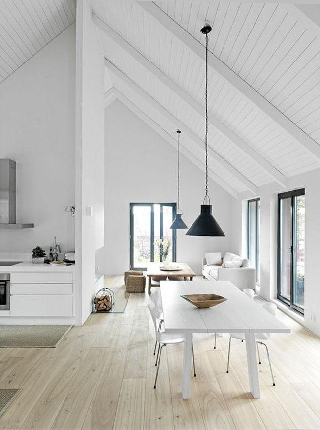 white dining rooms 6  Modern Decoration: 10 white dining rooms white dining rooms 6
