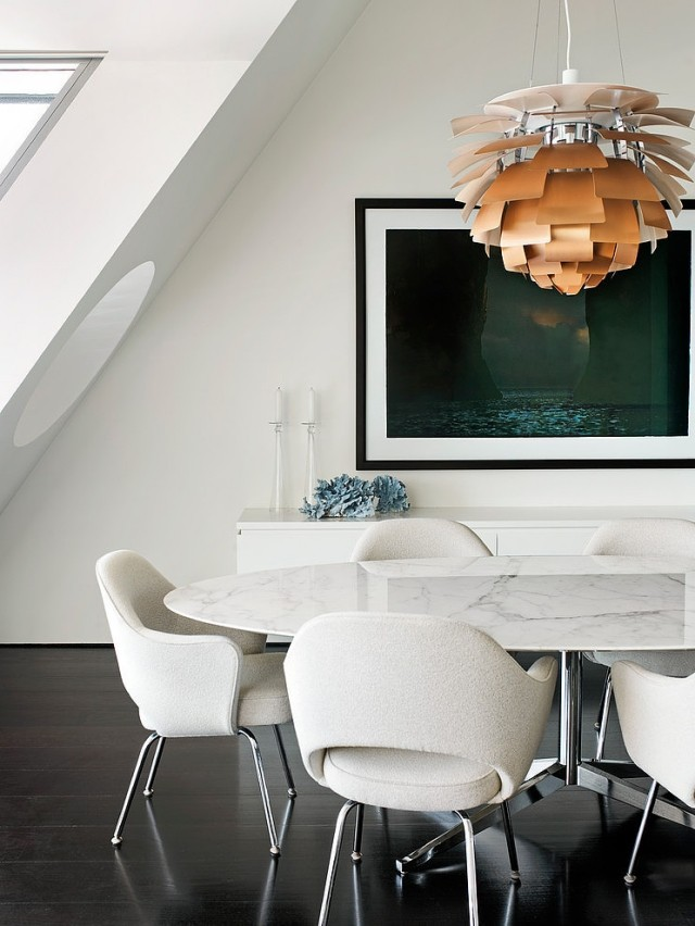 white dining rooms 9  Modern Decoration: 10 white dining rooms white dining rooms 9