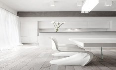 Modern Decoration: 10 white dining rooms white dining rooms fe 234x141