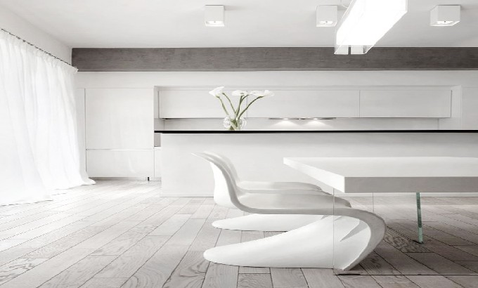 Modern Decoration: 10 white dining rooms white dining rooms fe