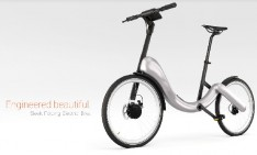 Folding, chainless, electric JIVR bike  Folding chainless electric JIVR bike feat 234x141