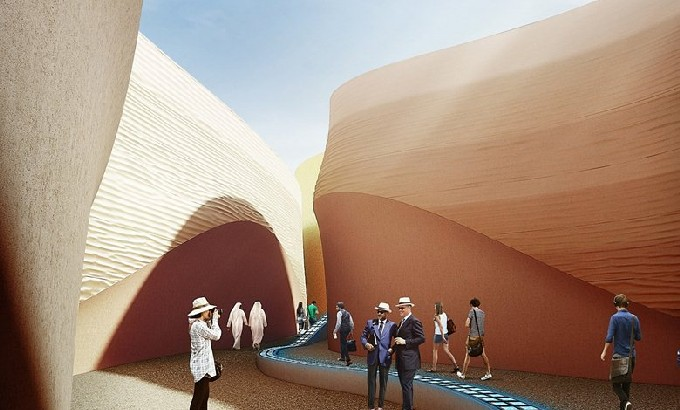 home and decor expo 2015 foster and partners uae pavillion for milan expo 2015 12175
