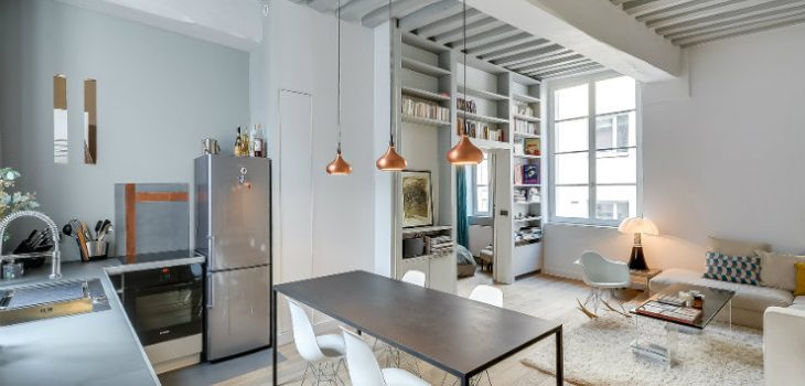 apartment in paris Apartment in Paris Home Interiors: Contemporary Classic Apartment in Paris featured 730x350