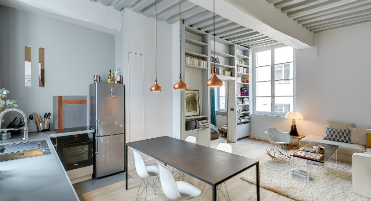 apartment in paris Apartment in Paris Home Interiors: Contemporary Classic Apartment in Paris featured