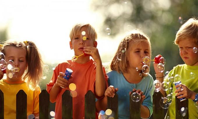 Amazing Kids' Rooms ideas juego de burbujas
