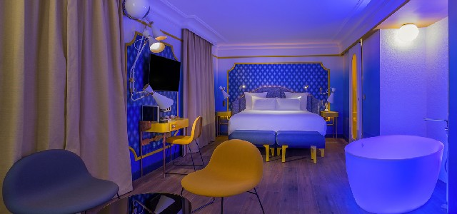 Idol Hotel Paris Decor by Julie Gauthron with DelightFULL's lamps