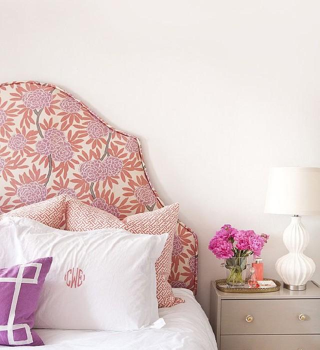 Bedroom Ideas 50 inspirational beds Bedroom design Ideas Bedroom Design Ideas: 50 inspirational beds Bedroom Design Ideas 50 inspirational beds grey fabric flowered bed