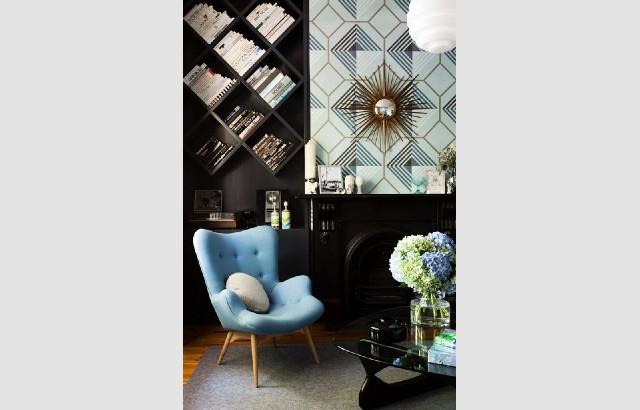 Living room design ideas 50 inspirational armchairs blue