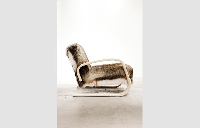 Living room design ideas 50 inspirational armchairs fur brown