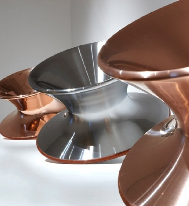 60 Lifestyle Home Design Ideas Copper Madness: Talking About Chairs: Spun Chair By Thomas Heatherwick