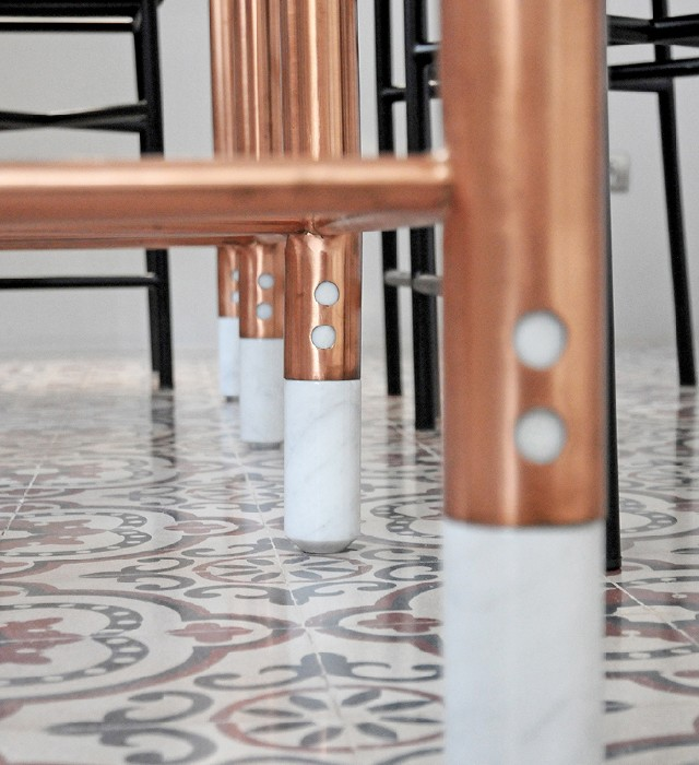 60 Lifestyle Home Design Ideas Copper Madness: Another Great Furniture Collection Using Copper Metal