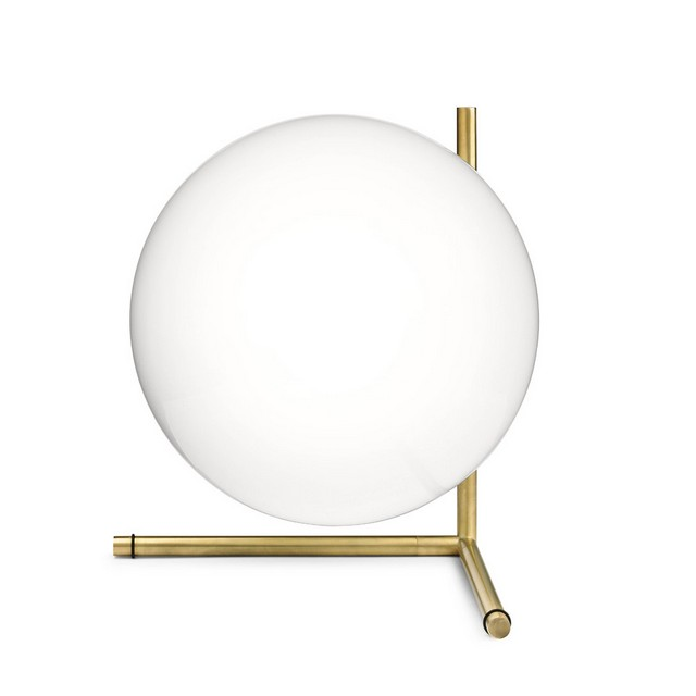 IC Light T By Flos Contemporary Lighting 10 Golden Lamps CONTEMPORARY LIGHTING GOLDEN