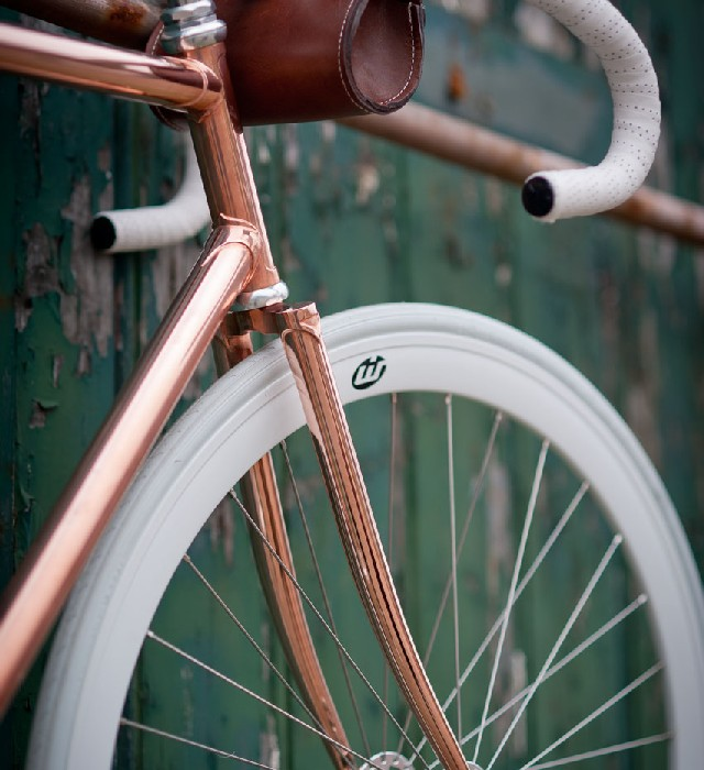 60 Lifestyle Home Design Ideas Copper Madness: We Really Are Into Bikes And This One Is All Copper . Would