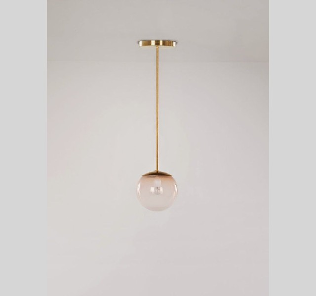 gold lamp susp bulb LIVING ROOM DESIGN IDEAS LIVING ROOM DESIGN IDEAS: 50 GOLD LAMPS gold lamp susp bulb