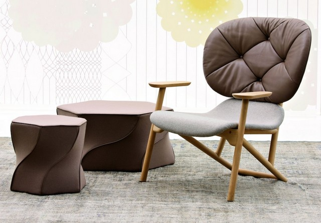 patricia urquiola Living room design ideas: 50 inspirational armchairs