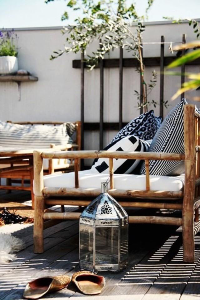 Красивый дизайн балкона - фото стильных идей.