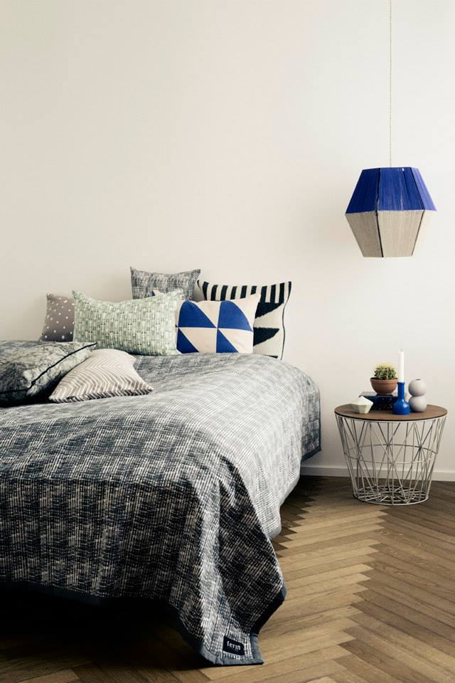 Bedroom Design Ideas 50 lighting  black, white and wood  640