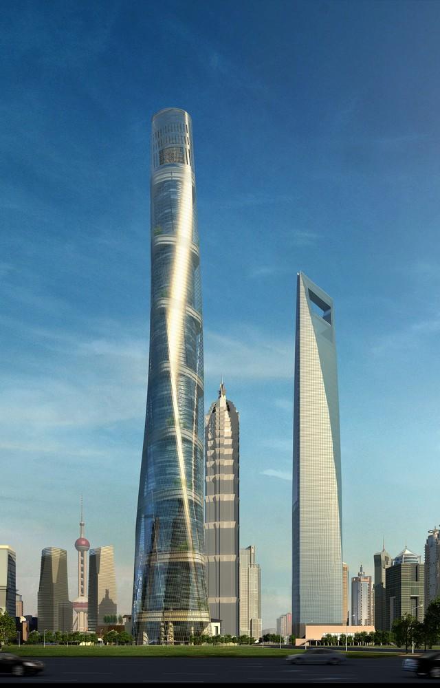 Gensler's shangai's tallest tower