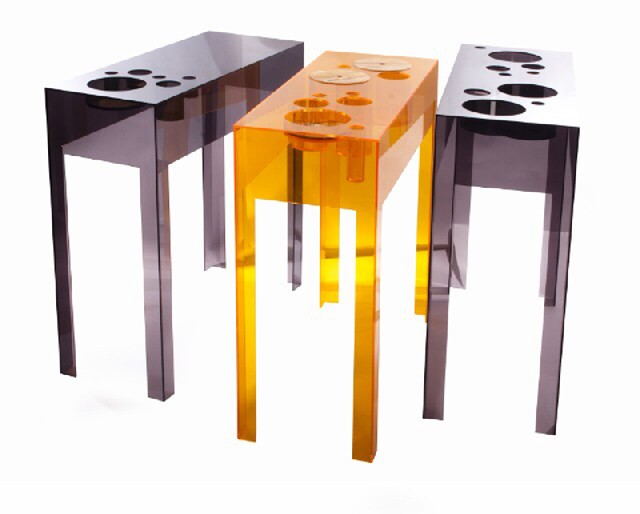 colorful home design ideas mango orange table ny natalia segi
