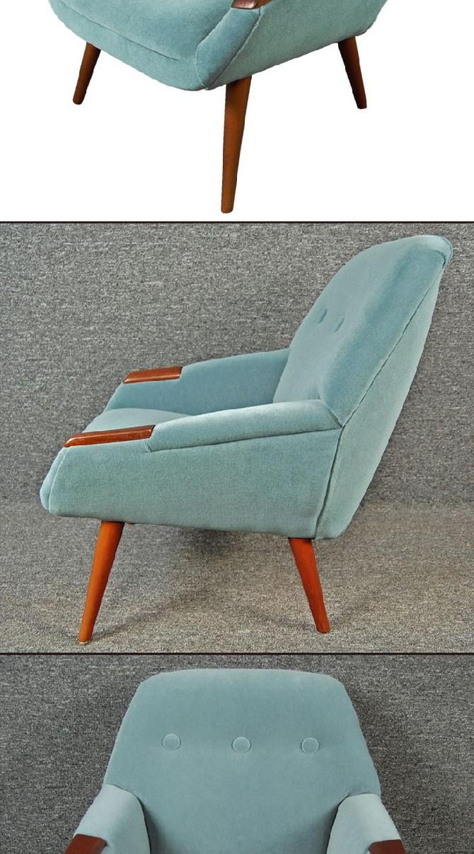 Mid-Century-Modern-Furniture-for-your-Living-Room-Design1950s-Swedish-Teak-Armchair
