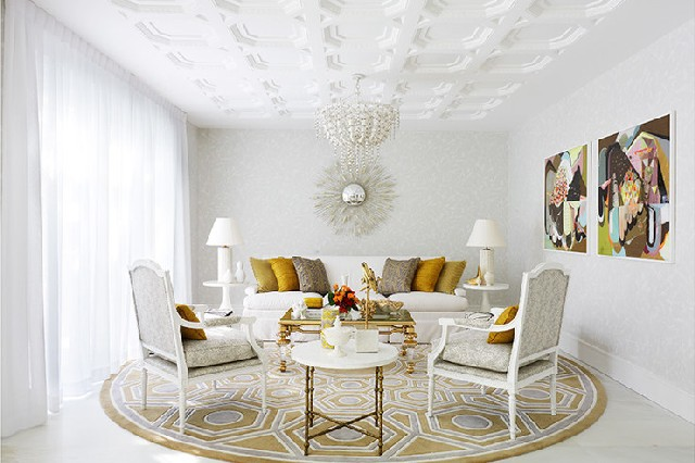 Elegant Contemporary Home Design Ideas by Greg Natale room white detail and strong geometric shapes that stand out nicely