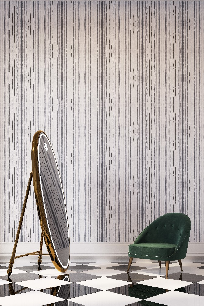 Exclusive Interview With Yana Svetlova Modern Wallcovering Designs Stripes  Small Home Design Ideas Home Design Ideas