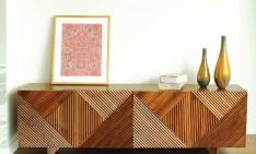 TOP 50 MODERN SIDEBOARDS enzo sideboard, american walnut, Rosanna Ceravolo Design -