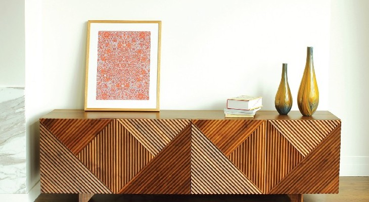 TOP 50 MODERN SIDEBOARDS enzo sideboard, american walnut, Rosanna Ceravolo Design - modern sideboards TOP 50 MODERN SIDEBOARDS FEAT TOP 50 MODERN SIDEBOARDS enzo sideboard american walnut Rosanna Ceravolo Design  730x400
