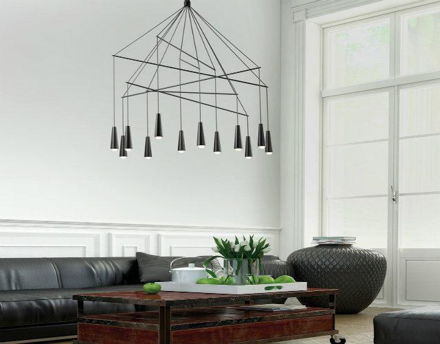 Top 50 modern suspension lamps - Focal point art essential aspect decor ...