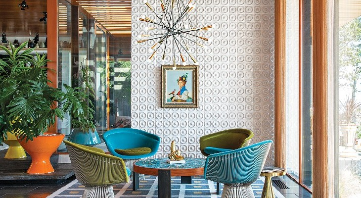 Luxury and Elegance contemporay interiors by Jonathan Adler