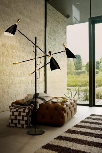 10 mid-century modern black floor lamps duke floor standing lamp delightfull