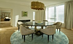 Ritz Carlton Wolfsburg elegance and luxury by Elliot Barnes DELIGHTFULL SUSPENSION LAMP