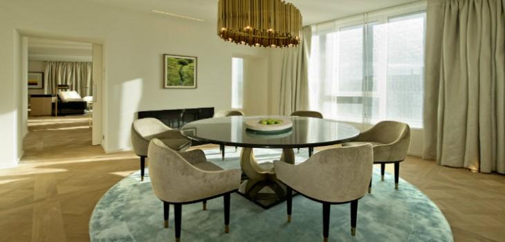 Ritz Carlton Wolfsburg elegance and luxury by Elliot Barnes DELIGHTFULL SUSPENSION LAMP