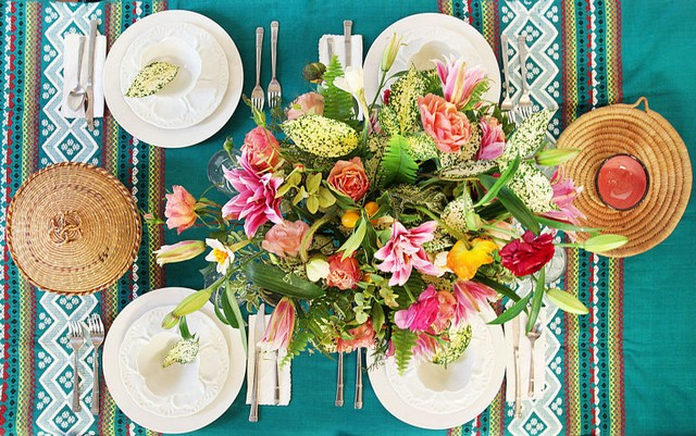 FLORAL TRENDS FOR YOUR HOME DESIGN IDEAS (6)