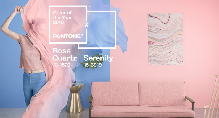 Pantone featured colors of the year Rose Quartz and Serenity: the colors of the year by Pantone Pantone featured