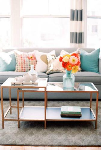 Spring Home Design Ideas for your living room 3
