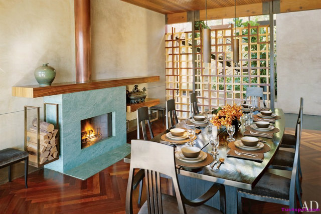 10 Stunning Celebrity Dining Rooms to Be Inspired by Demi Moore and Ashton Kutcher