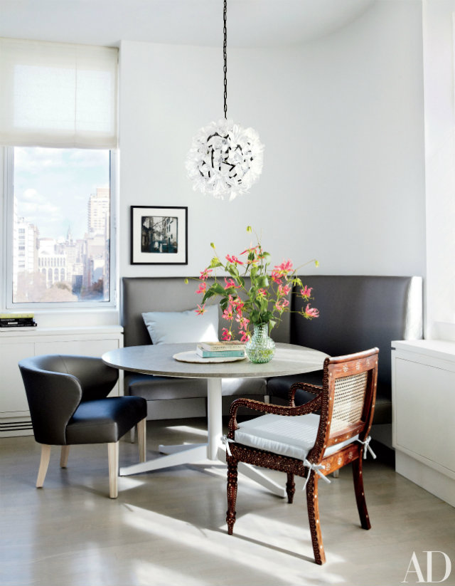 10 Stunning Celebrity Dining Rooms to Be Inspired by Julianna Margulies's New York apartment