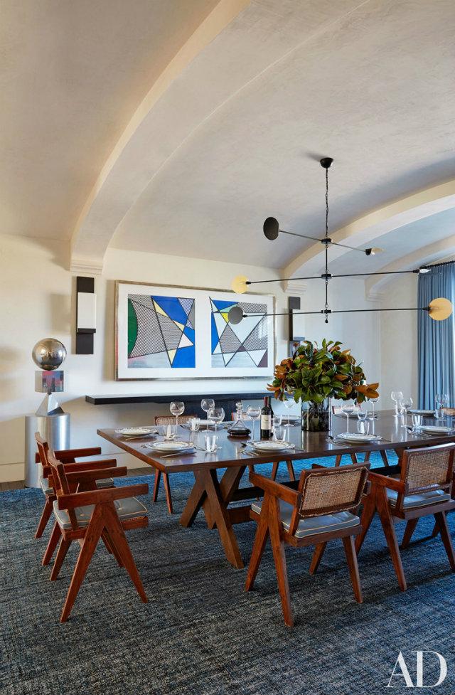 10 Stunning Celebrity Dining Rooms to Be Inspired by Kourtney Kardashian's Calabasas, California,