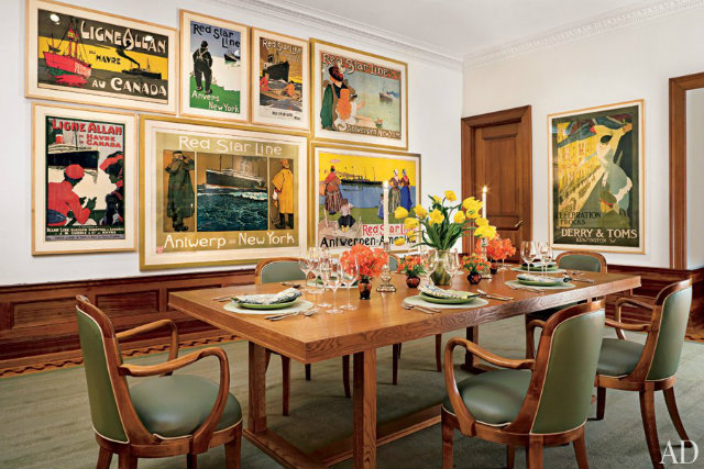 10 Stunning Celebrity Dining Rooms to Be Inspired by Leonard Lauder ny
