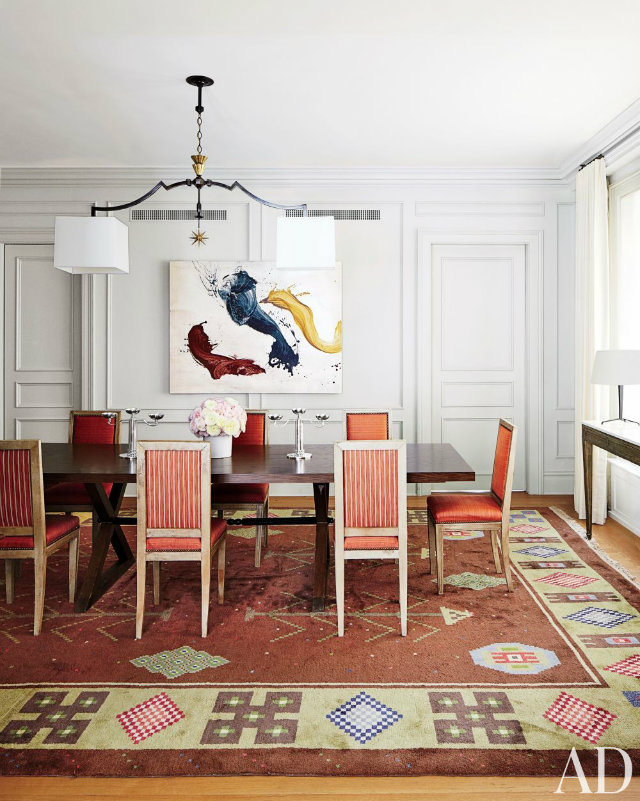 10 Stunning Celebrity Dining Rooms to Be Inspired by nina garcia home