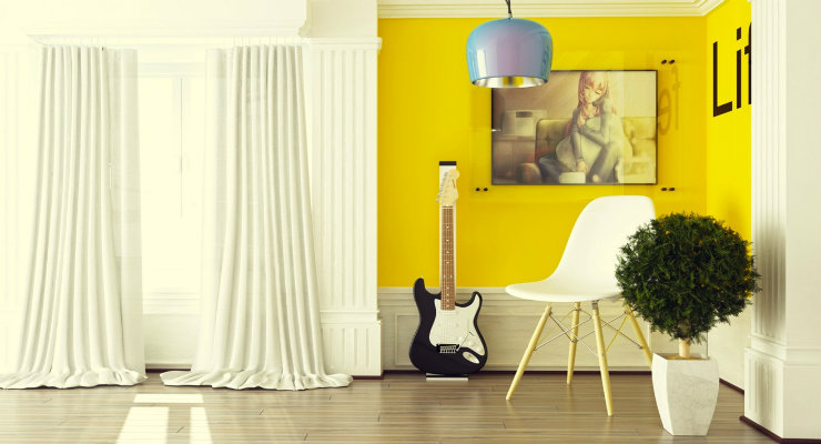 home design ideas Turn your home design ideas yellow FEAT2