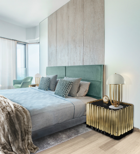 use table lamps  bedroom design ideas 8