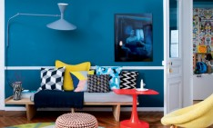 home design ideas Home Design Ideas: A modern apartment design featuring pop colors featured 4 234x141