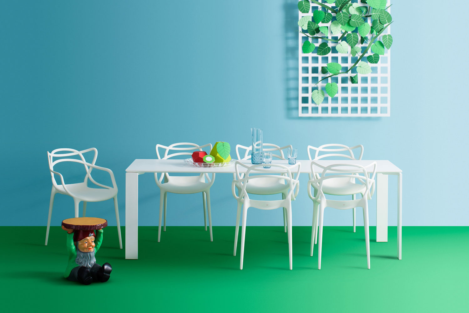 Home Design Ideas from iSaloni 2016: Kartell home design ideas Home Design Ideas from iSaloni 2016: Kartell outdoor dining