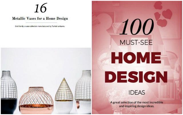 Home Design Ideas for Spring 2016 FREE EBOOK (1)
