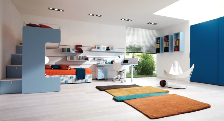 Colorful wall decor ideas for your kids bedrooms