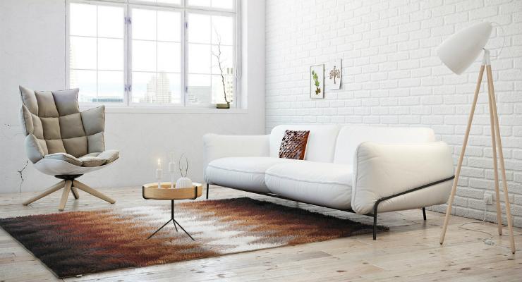 Home Design Ideas: Living Room Ideas Using Brown Color