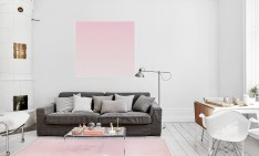 featured summer summer colors Summer Colors to Use in Your Home Design Ideas summer blush ombre pink scandinavian interior living room 234x141