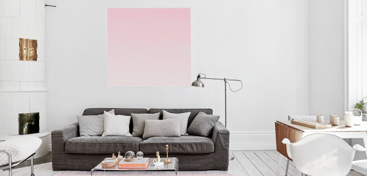 featured summer summer colors Summer Colors to Use in Your Home Design Ideas summer blush ombre pink scandinavian interior living room 730x350